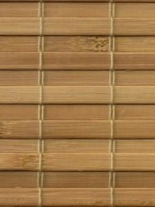 Material for manufacture of made to measure bamboo blinds and custom made bamboo shading
