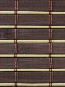 Material for manufacture of made to measure bamboo roller blinds and custom bamboo shading