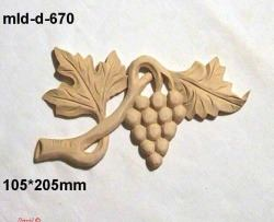 custom grape carving, made to measure grape ornament